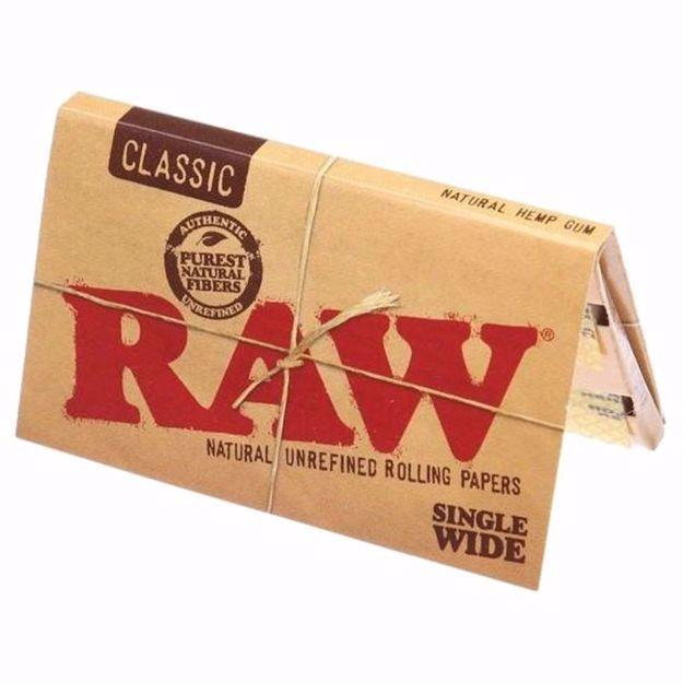 Raw | Single Wide Classic Rolling Paper
