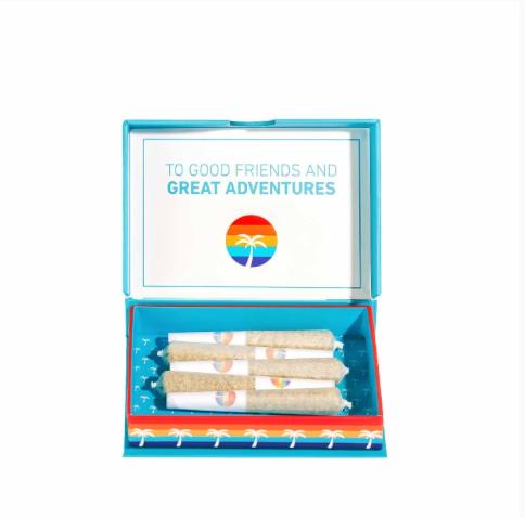 Island | Evergreen Haze |   Mini Preroll 5 Pack