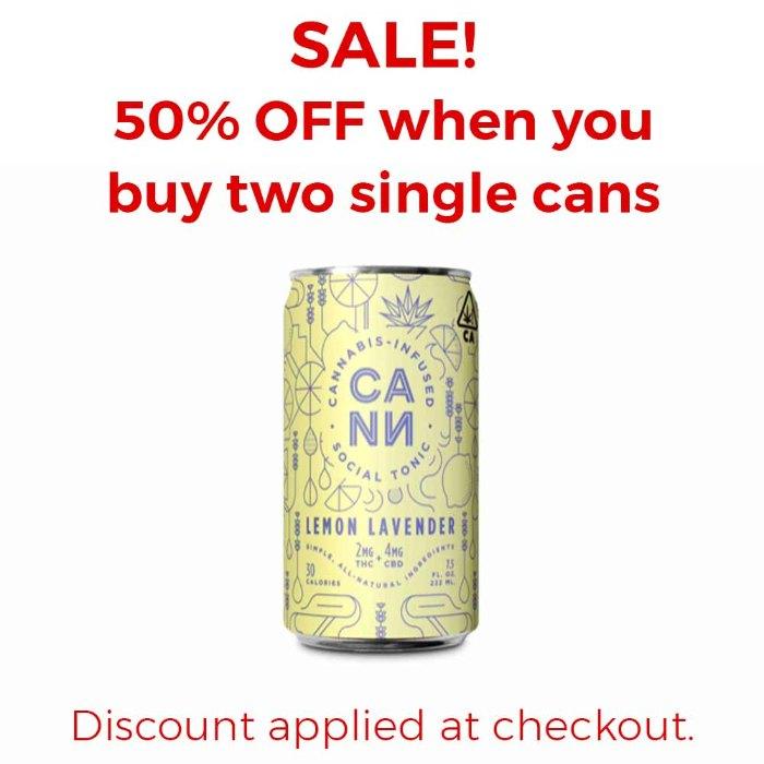 Cann | Lemon Lavender | Single