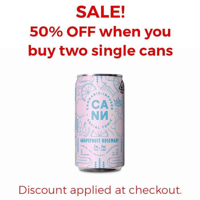 Cann | Grapefruit Rosemary | Single