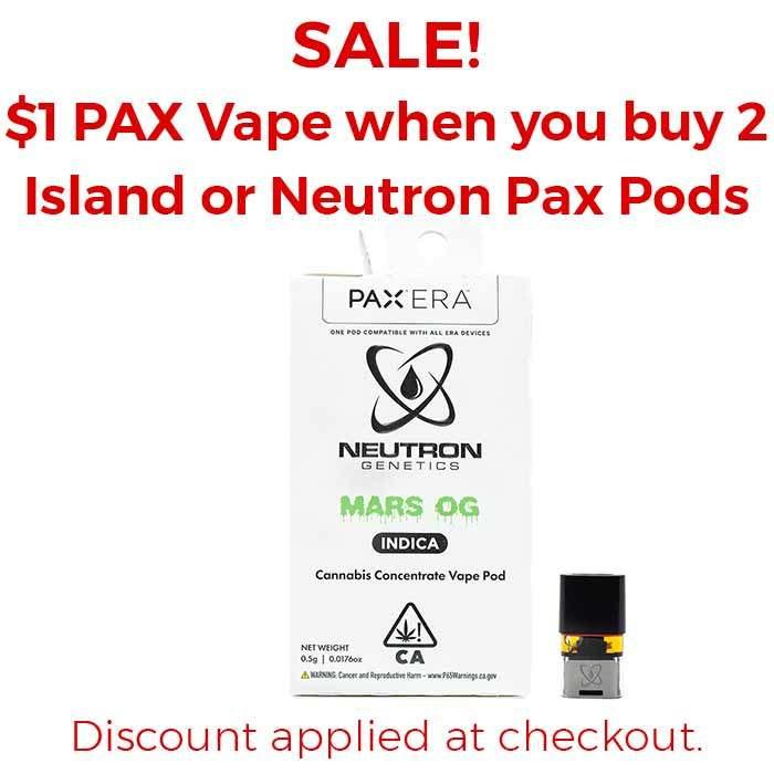 Neutron Genetics | Mars OG | Pax Pod