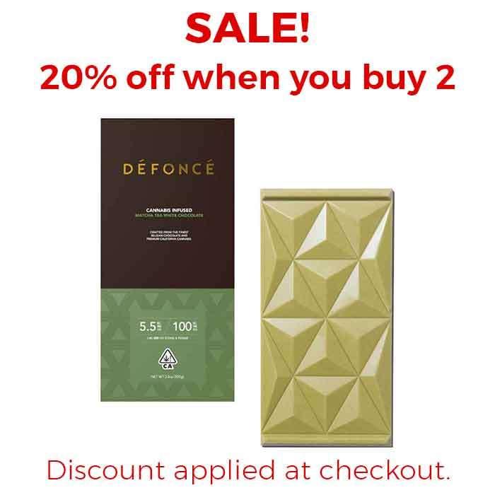 Defonce | Matcha Tea White Chocolate