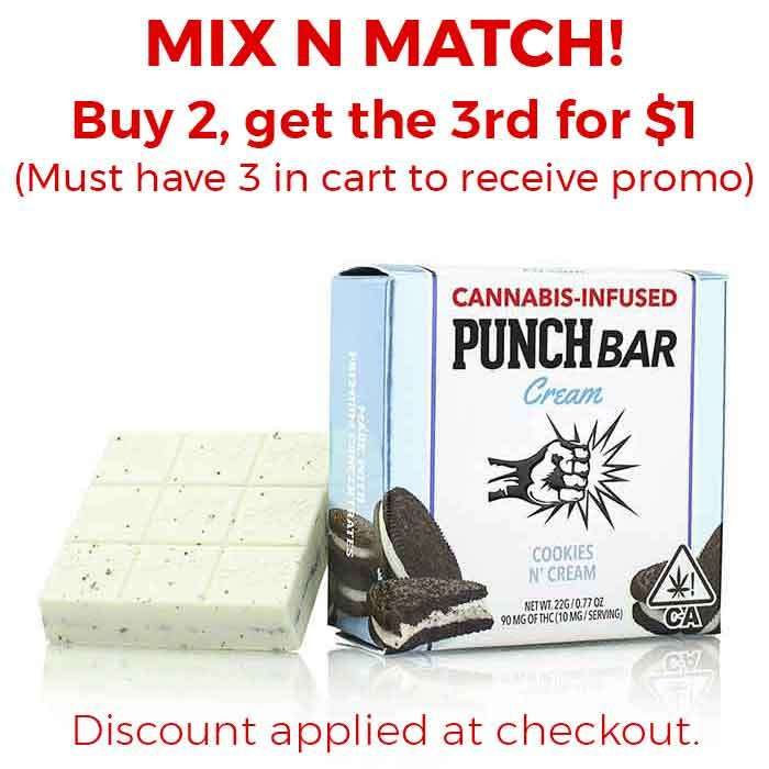 Punch Edibles & Extracts | Cookies N' Cream White Chocolate