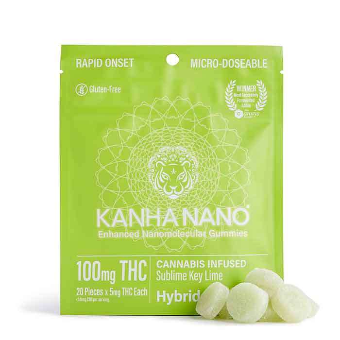 Kanha | Sublime Key Lime Micro-Nano Gummies