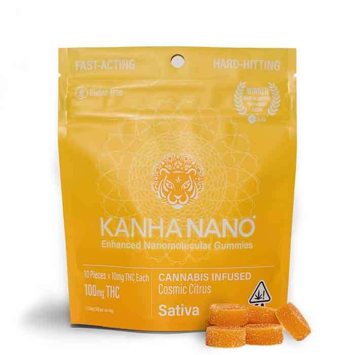 Kanha | Cosmic Citrus Nano Gummies