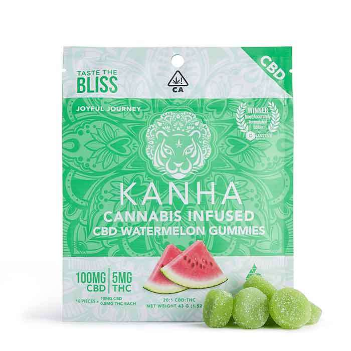 Kanha | 20:1 Watermelon CBD Gummies