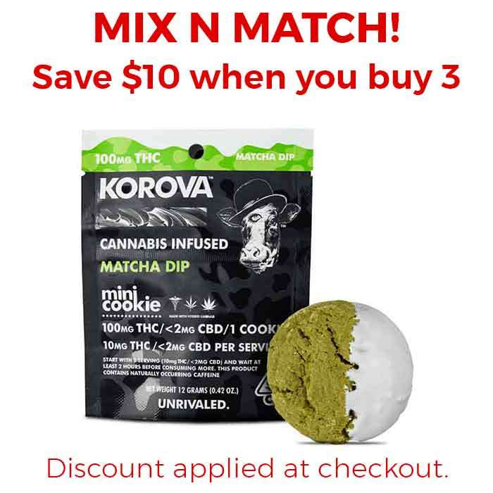 Korova | Matcha Mini Dip Single Cookie