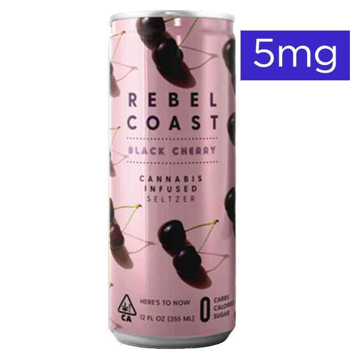 Rebel Coast  | Black Cherry | 5mg Seltzer