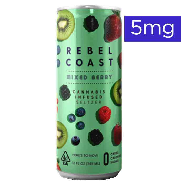 Rebel Coast  | Mixed Berry | 5mg Seltzer