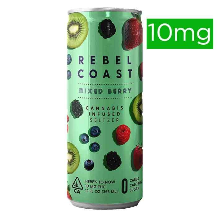 Rebel Coast  | Mixed Berry | Seltzer
