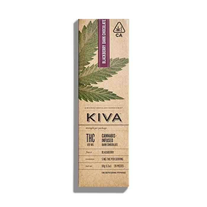 Dark Chocolate Blackberry Bar from Kiva