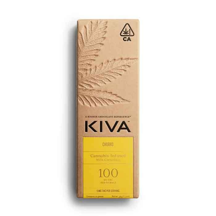 Churro Milk Chocolate Bar from Kiva