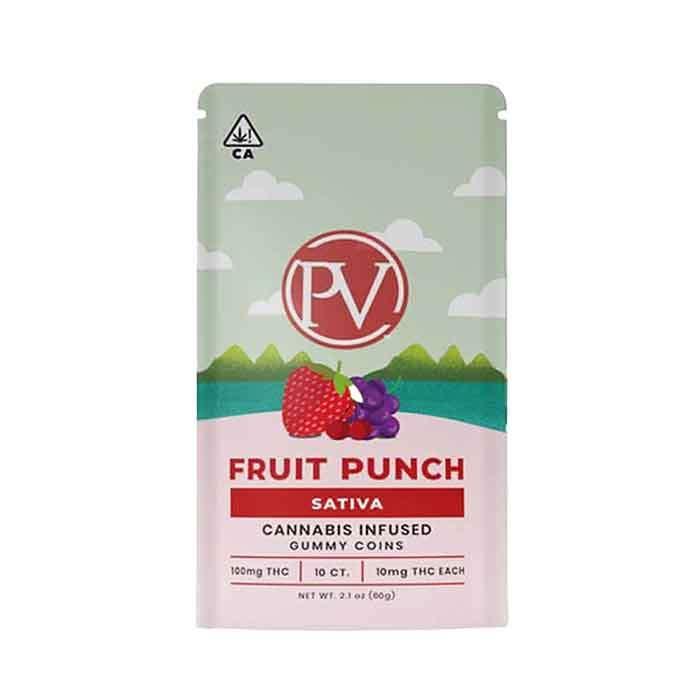 Platinum Vape | Fruit Punch | Gummy Coins