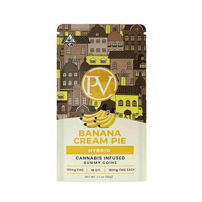 Platinum Vape | Banana Cream Pie | Gummy Coins