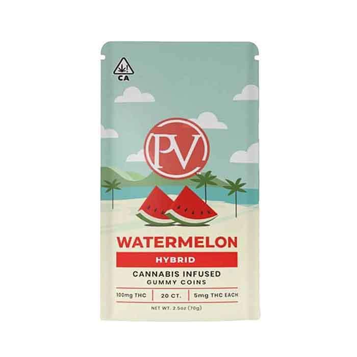 Platinum Vape | Watermelon | Gummy Coins