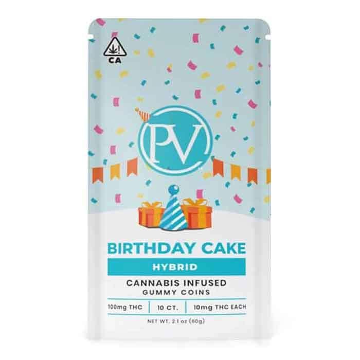 Platinum Vape | Birthday Cake | Gummy Coins