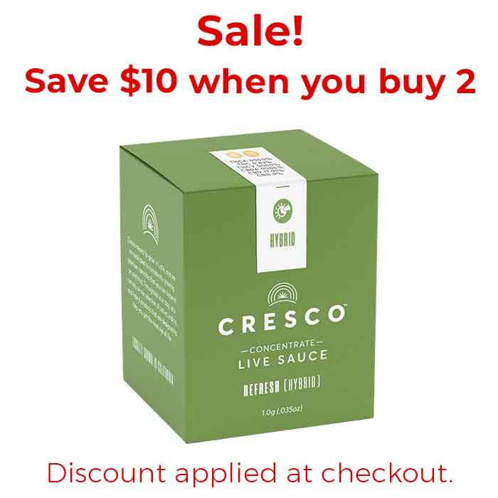 Cresco | Apple Rocks x Cherry AK | Live Sauce