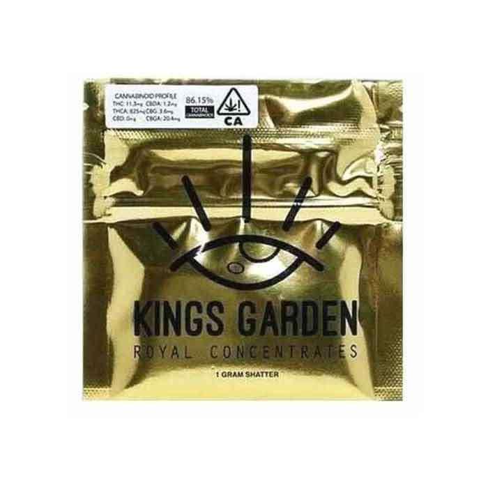 Kings Garden | Blue Dream x Kings Cake | Live Shatter