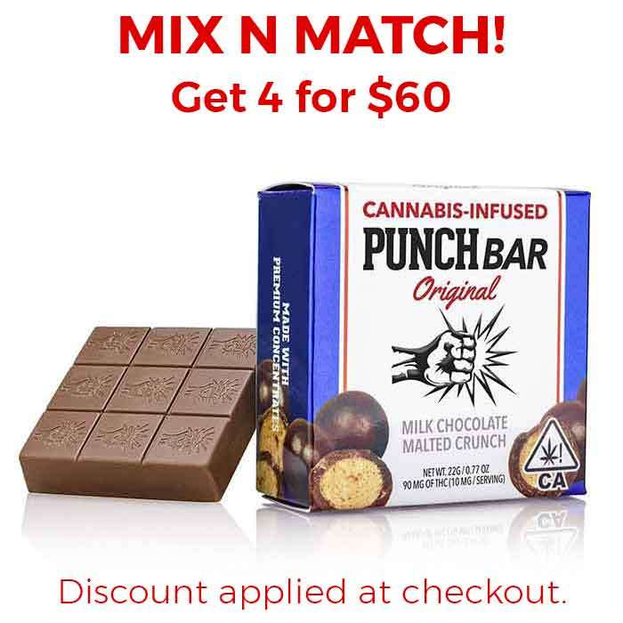 Punch Edibles & Extracts | Milk Chocolate Malted Crunch