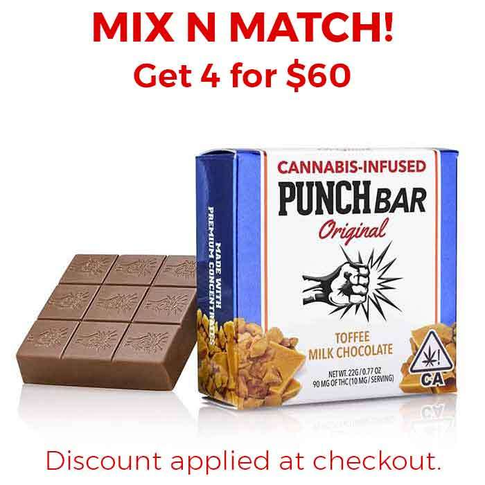 Punch Edibles & Extracts | Toffee Milk Chocolate