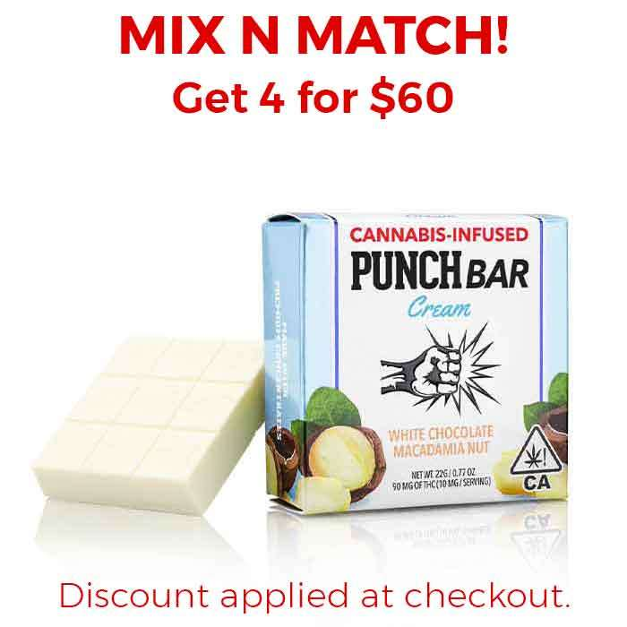 Punch Edibles & Extracts | White Chocolate Macadamia Nut