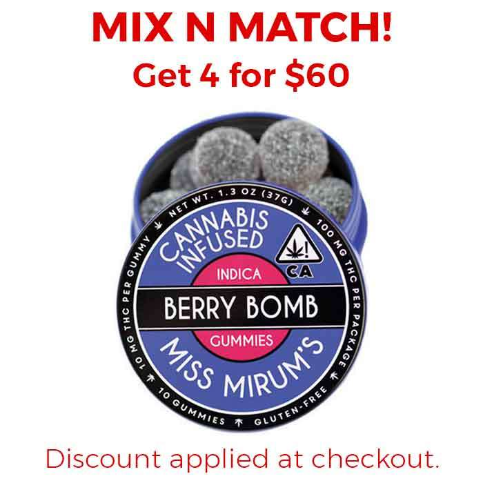 Miss Mirum's | Berry Bomb Gummies