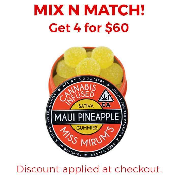 Miss Mirum's | Maui Pineapple Gummies