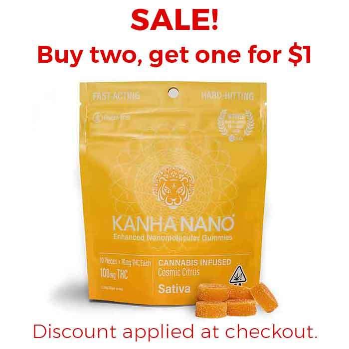 Kanha   Cosmic Citrus Nano Gummies