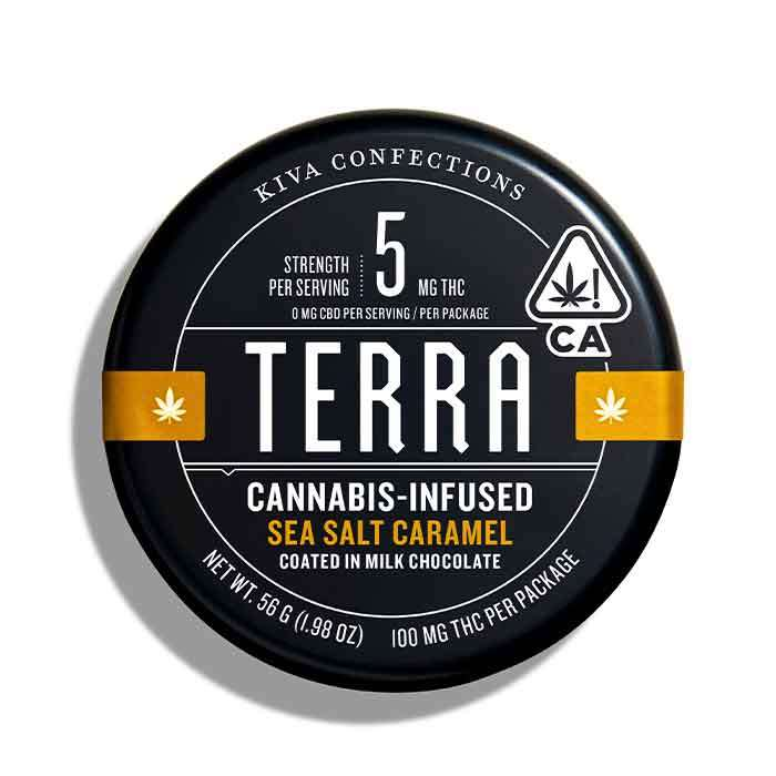 Terra bites Sea Salt Caramel from Kiva