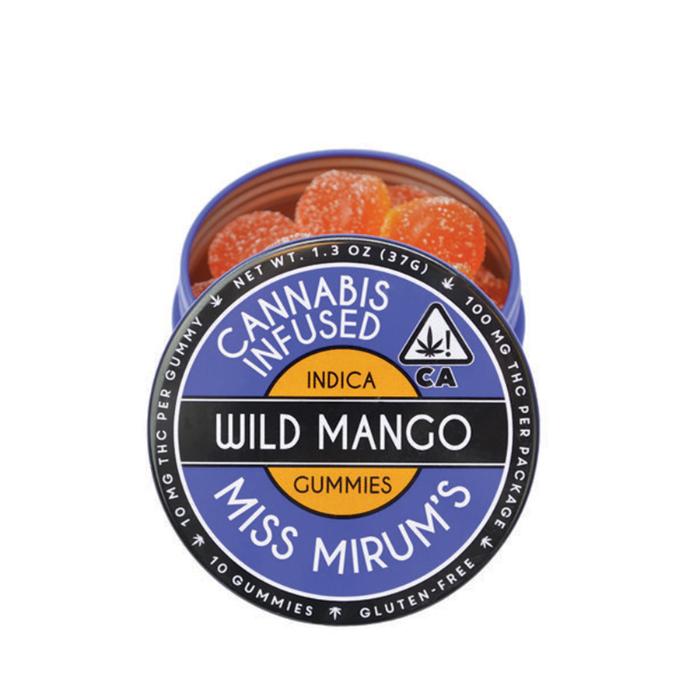 Wild Mango Gummies from Miss Mirum's