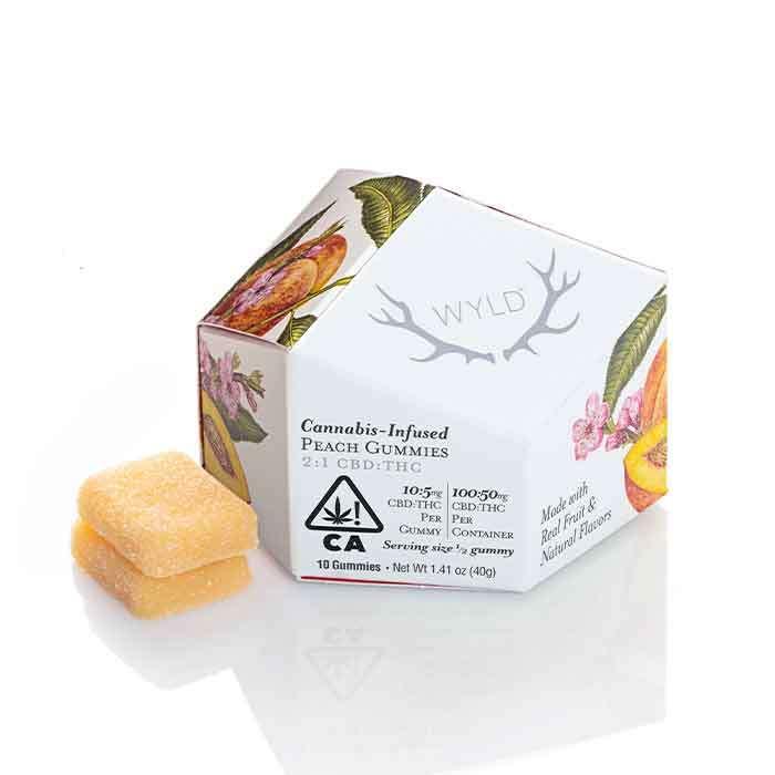 Peach Gummies | 2:1 CBD:THC from Wyld