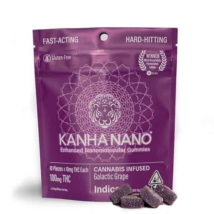 Galactic Grape Nano Gummies from Kanha