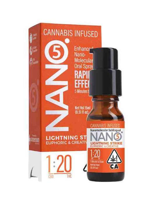 Nano 5 | Lighting Strike 1:20 | Sublingual Spray 15ml