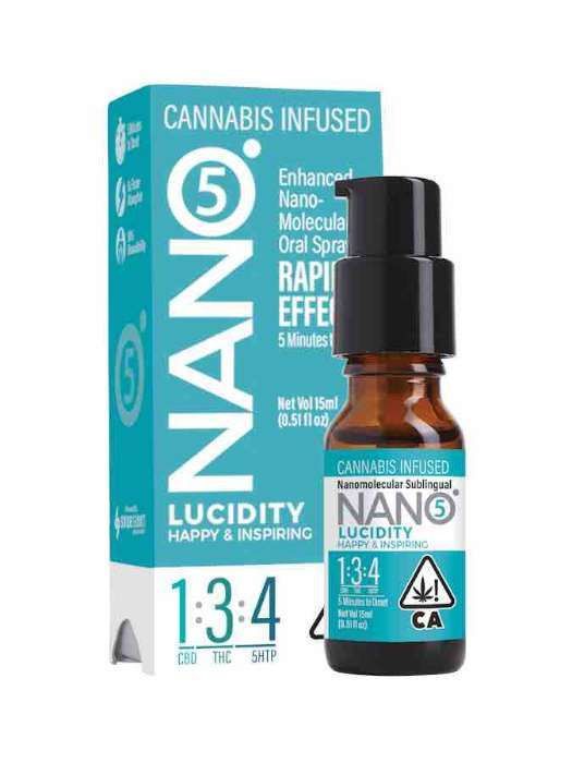 Nano 5 | Lucidity 1:3:4 | Sublingual Spray 15ml