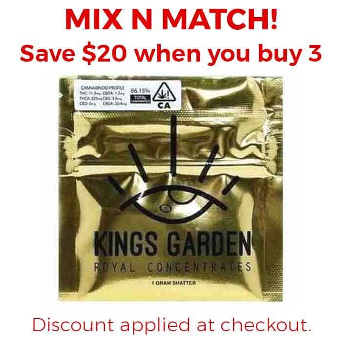GMO | Live Shatter from Kings Garden