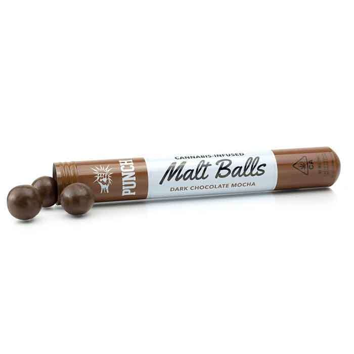 Punch Edibles & Extracts | Malt Balls | Dark Chocolate Mocha