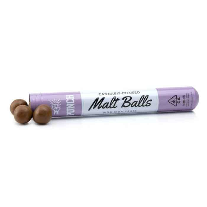 Punch Edibles & Extracts | Malt Balls | Milk Chocolate