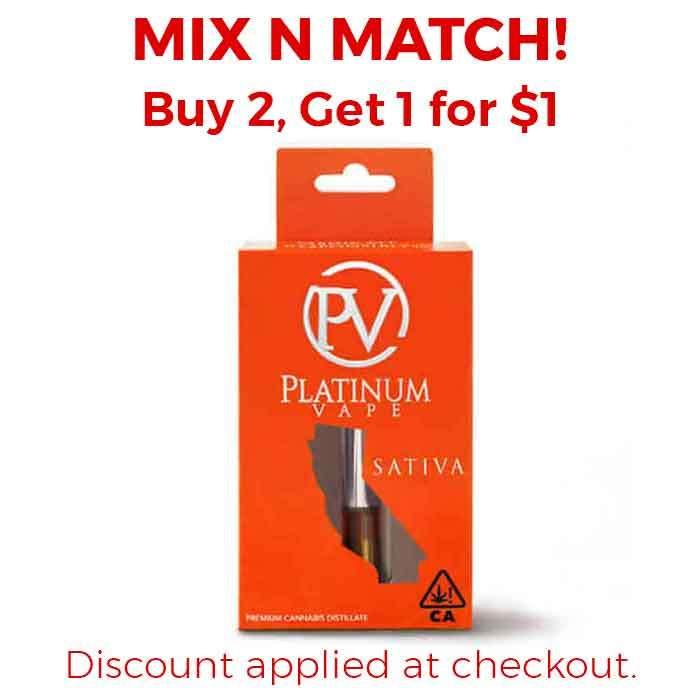 Platinum Vape | Hawaiian Diesel | 1g Cartridge