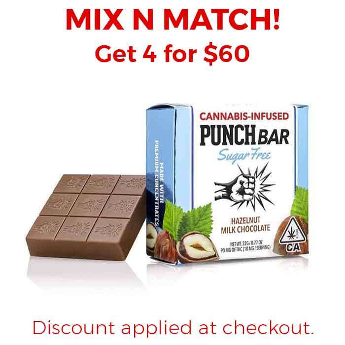 Punch Edibles & Extracts | Sugar Free | Hazelnut Milk Chocolate