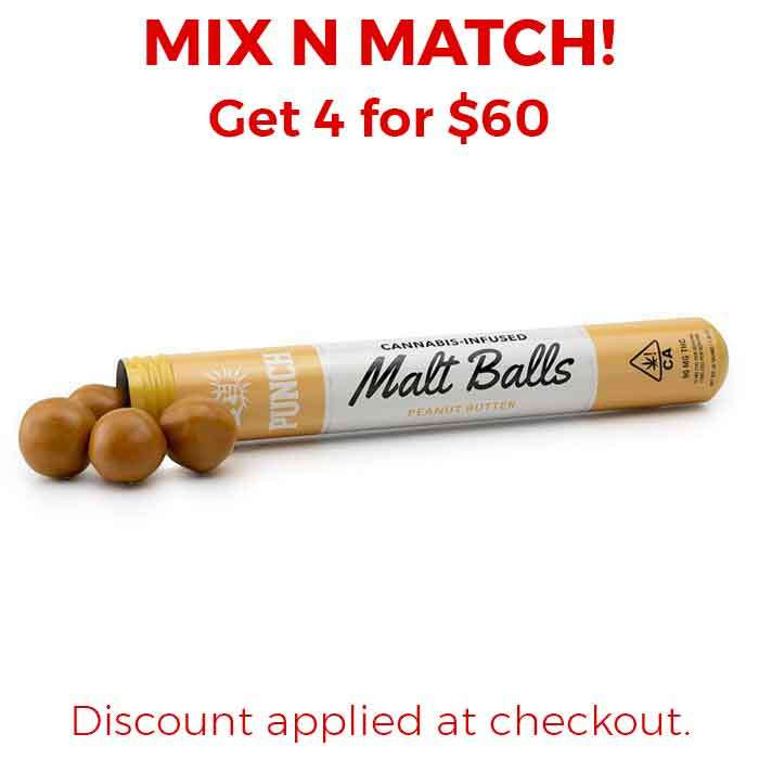 Punch Edibles & Extracts | Malt Balls | Peanut Butter