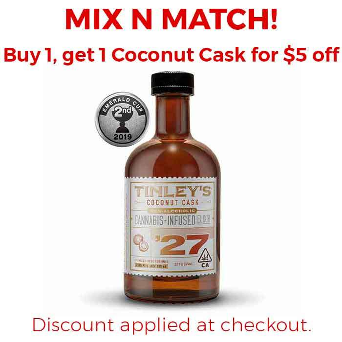 Tinleys | Tinley '27  Coconut Cask