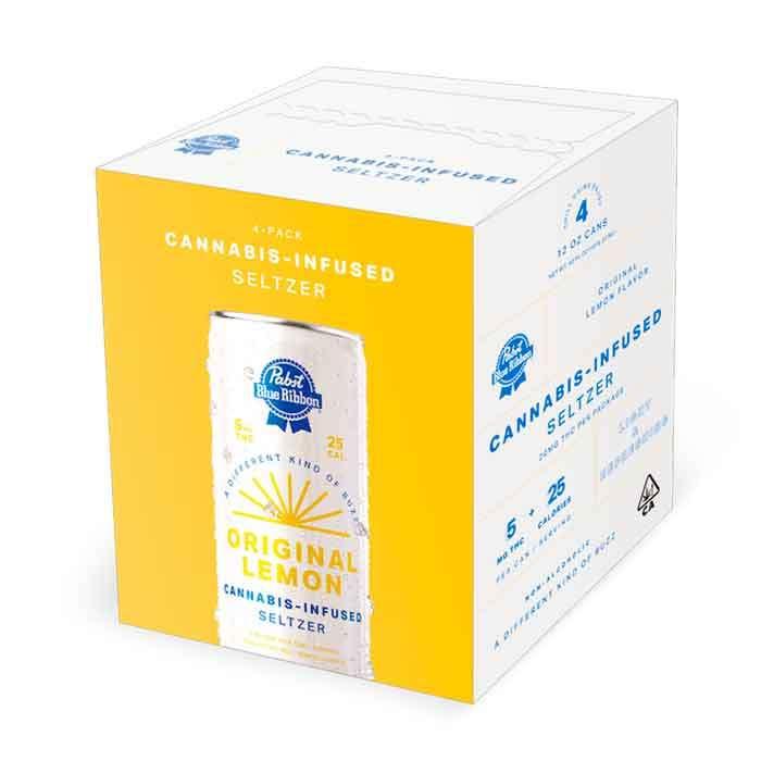 Pabst | Cannabis Infused Seltzer 4 pack from Pabst Labs