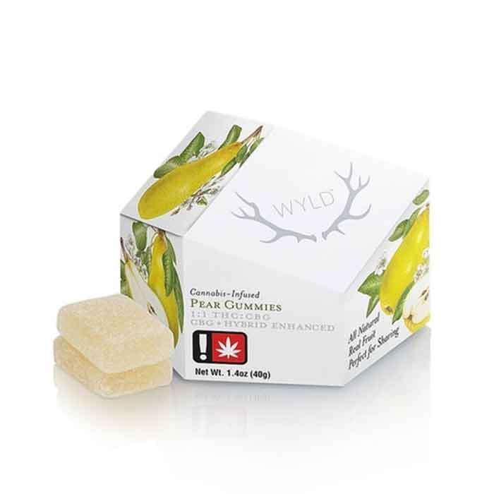 Pear Gummies | 1:1 CBG:THC from Wyld