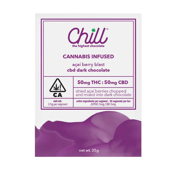 Acai Berry Blast 1:1 CBD:THC  from Chill