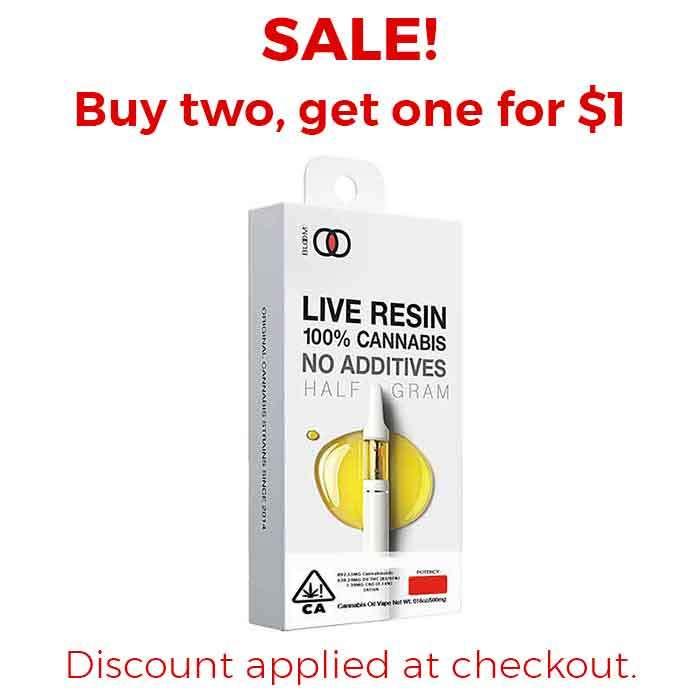 Lemon Cake | 0.5g Live Resin Cart from Bloom