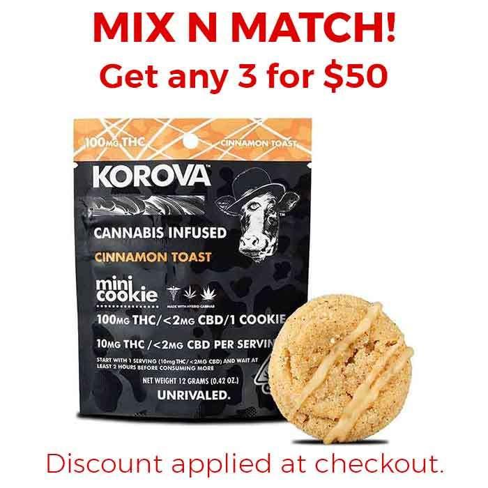 Cinnamon Toast Mini Dip Single Cookie from Korova