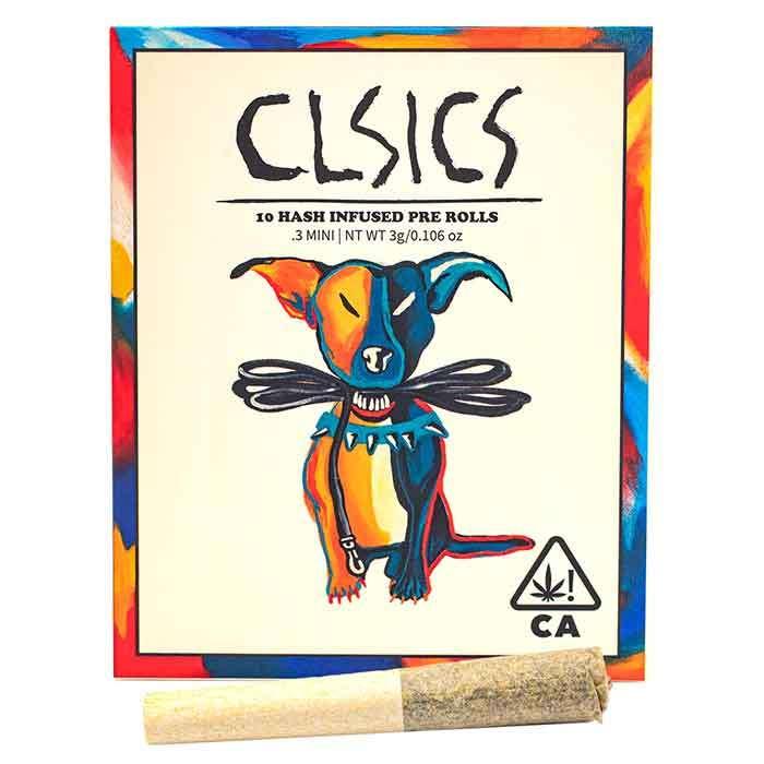 Skywalker Og Flower x London kush Hash | 10 Pack Infused PreRolls from CLSICS