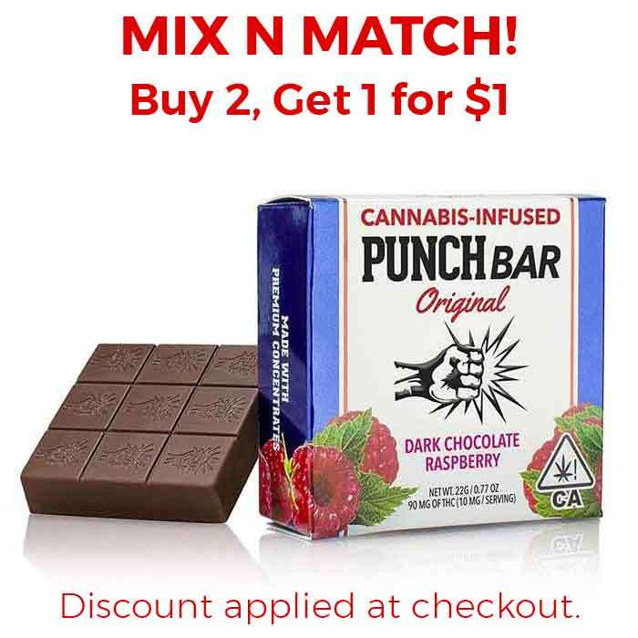 Punch Edibles & Extracts | Dark Chocolate Raspberry
