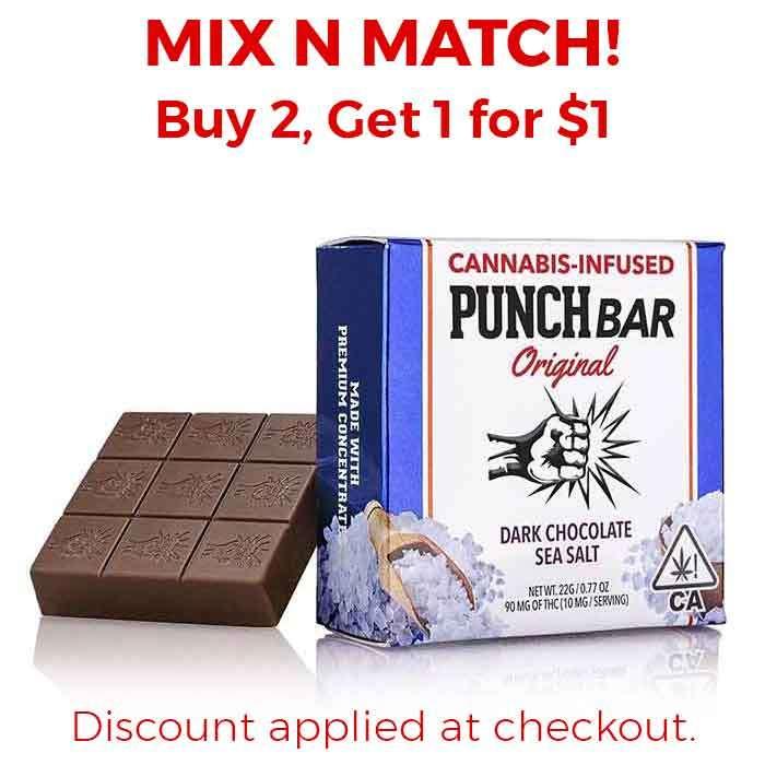 Punch Edibles & Extracts | Dark Chocolate Sea Salt