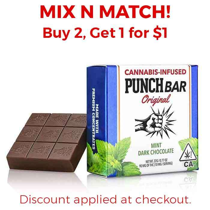 Punch Edibles & Extracts | Mint Dark Chocolate